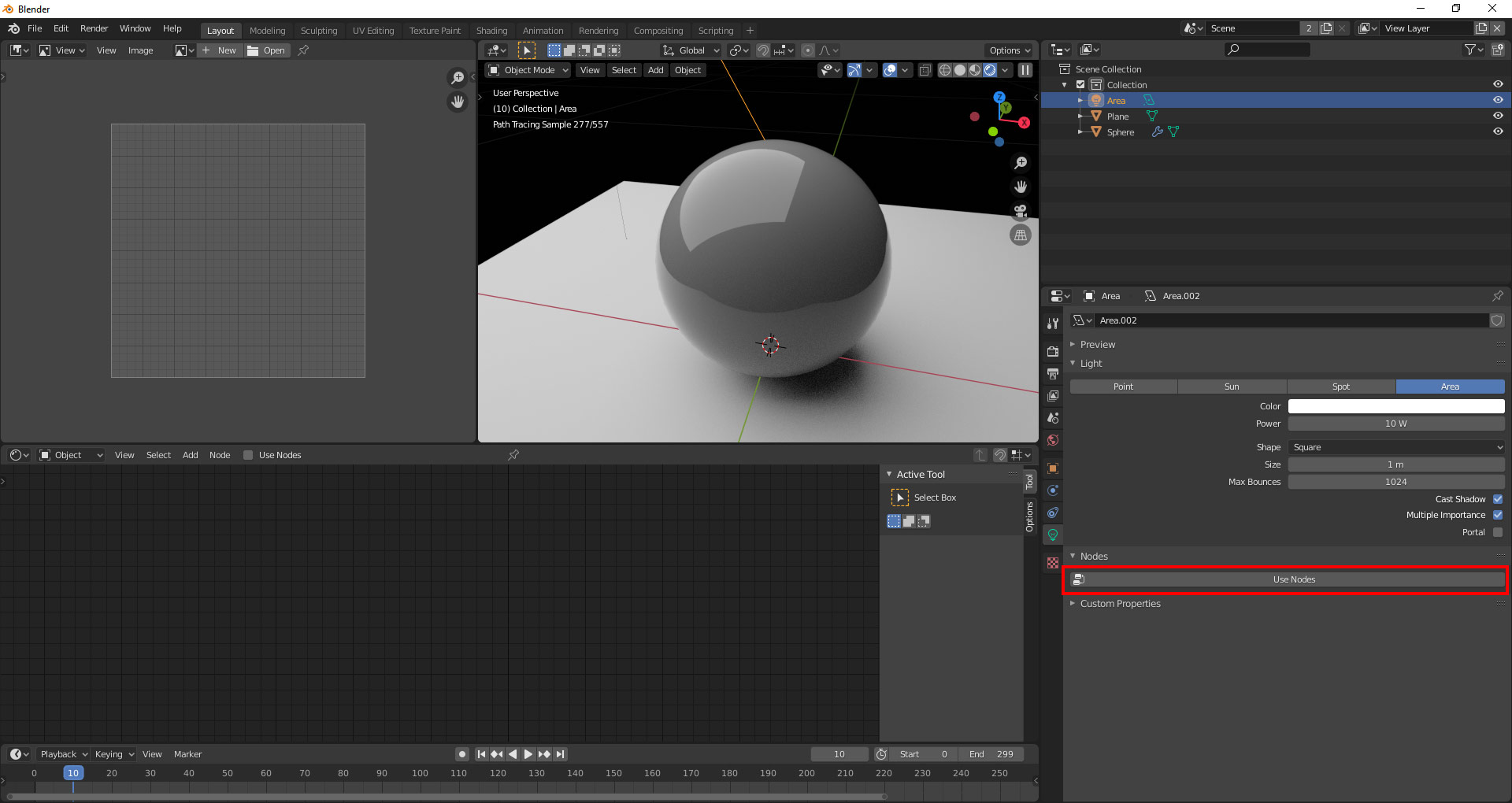 Blender Adding A Texture To An Area Light Oded Erell S Cg Log